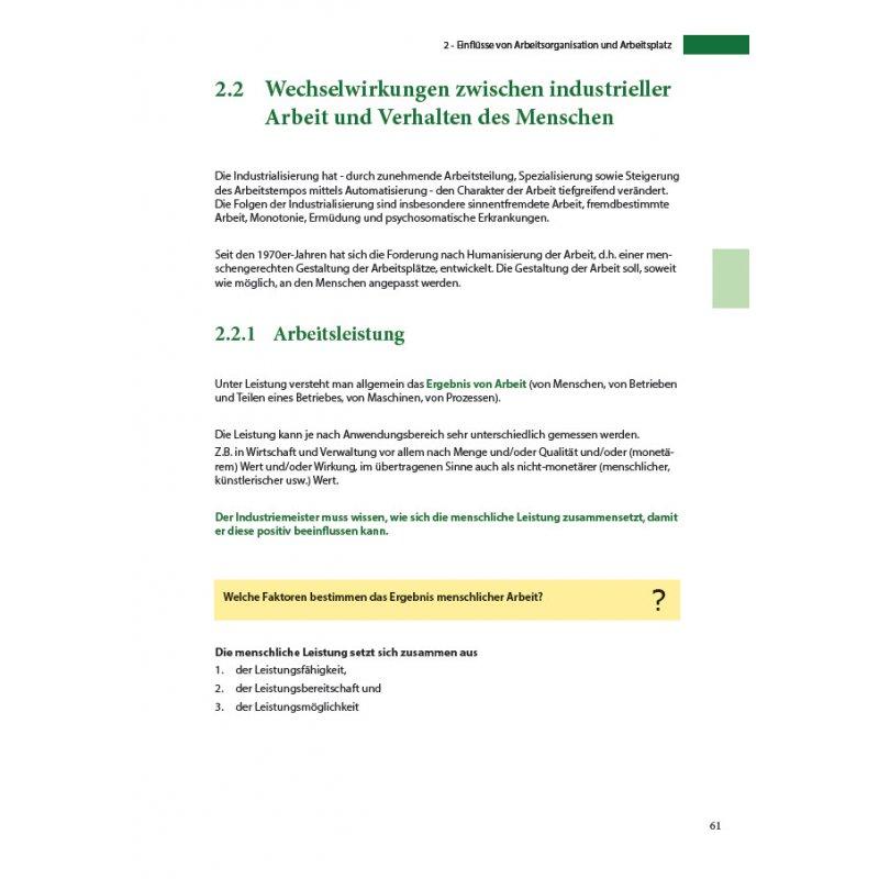 paket industriemeister lehrbuch paket - Fachgesprach Industriemeister Metall Beispiele