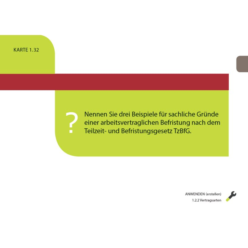 Personalfachkaufleute Frage Antwort Karten Handlungsbereich 2